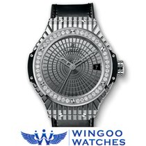 Hublot Big Bang acciaio Caviar Diamanti Ref. 346.SX.0870.VR.1204
