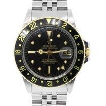 勞力士 (Rolex) 1675 GMT Master Two Tone Black Dial Watch