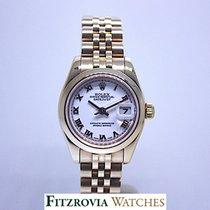 Rolex Ladies Rolex Datejust Solid 18KT RG 179165