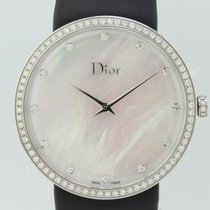 Dior La D Quartz Steel Lady CD043114-J (New)