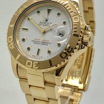 Rolex Yacht-Master 18K Yellow Gold 40MM Men's Watch Box 1991