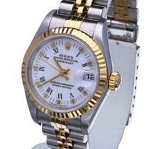 Rolex Datejust Lady Jubilee Gold Steel Roman Dial 26 mm (Full...