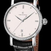 Chronoswiss Sirius Automatic Steel & Diamonds- Silver Dial...