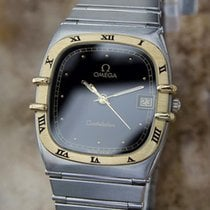 Omega Constellation 18k & Stainless Steel Men's 30mm...