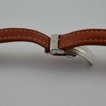 Breitling Leder Armband Band 15mm 15-14 Mit Faltschliesse Braun