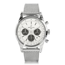 Breitling Transocean Stainless Steel Chronograph Automatic...