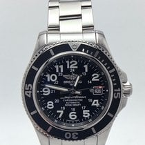 Breitling Superocean Black  42mm Complete Ref: A17365c9 Full...