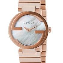 Gucci Interlocking Mother of Pearl Dial YA133515 R