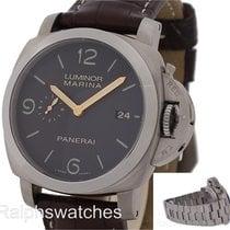 Panerai 44mm Luminor 1950 3 DAYS Titanio Titanium PAM 351 PAM 352