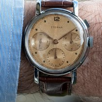 "Eterna Chrono ""Chocolat"" Trois Compteurs Fat Case"