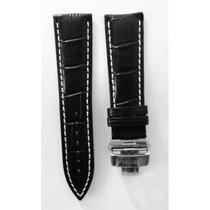 Certina DS 1 Lederarmband XL schwarz ohne Schliesse C610016996...