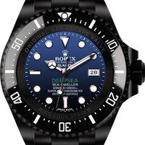 Rolex Deepsea D-Blue (black, DLC) by Blaken