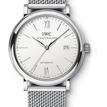 IWC Portofino Automatic 40mm Stainless Steel Bracelet White Dial