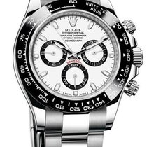 Rolex Daytona NEW MODEL White Dial Ceramic Bezel