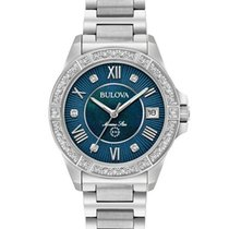 Bulova Ladies 96R215 Diamonds Watch