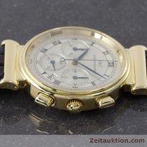 IWC 18k (0,750) Gold Da Vinci Chronograph Herrenuhr Medium Ref...