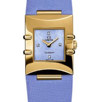 Omega 1631.79.69 Constellation Ladies Quadra in Yellow Gold -...