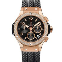 Hublot Big Bang Chronograph Rose Gold Diamonds  44mm  Watch