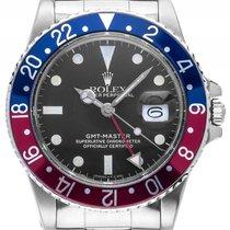 Rolex GMT Master Open 6/9 Rot Blau Pepsi Matte Dial Stahl...