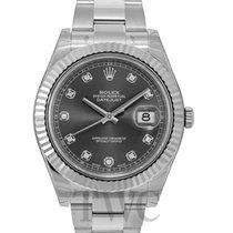 Rolex Datejust II Grey/Steel Ø41mm - 116334