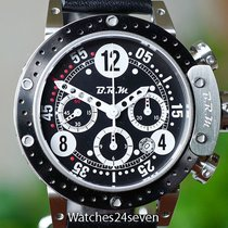 B.R.M Brake Bezel Chronograph Titanium PVD Black, 44mm,...