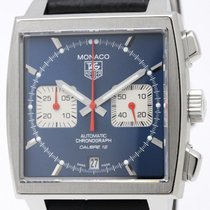 TAG Heuer Monaco Chronograph Steel Automatic Watch Caw2111...