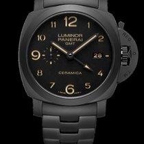 パネライ (Panerai) LUMINOR GMT 1950 3 DAYS ALL BLACK CERAMIC PAM438