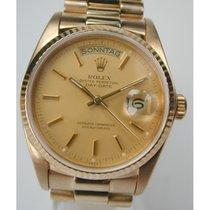 Rolex Day-Date 18038, 750/- Gelbgold, von 1980