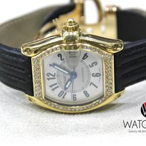 Cartier Roadster 2524 Automatic Solid 18k Yellow-Gold Diamond...