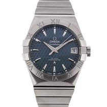 Omega Constellation 38 Automatic Blue Dial
