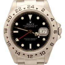 롤렉스 (Rolex) Explorer II Auto Stainless 40mm 16570T No holes Watch