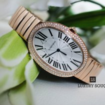 Piaget Cartier Baignoire Large Manual Rose Gold & Diamonds