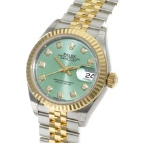 ロレックス (Rolex) Datejust 28 Diamond Index Yellow Gold Steel...