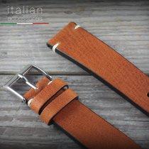 Cinturino pelle vacchetta 18 mm Cuoio LS VACCHETTA Cowhide...
