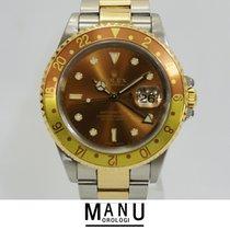 Rolex Gmt Master II Occhio di Tigre Blindato Bicolorore Ref.16713