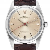 Rolex Oyster Perpetual Tru-Beat Jumping Seconds Automatik...