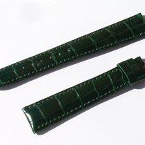 Σοπάρ (Chopard) Croco Armband Grün Green 17 Mm Für Dornschlies...