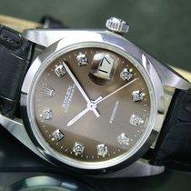 Rolex 1983s Rolex OysterDate Precision Steel Watch Ref 6694