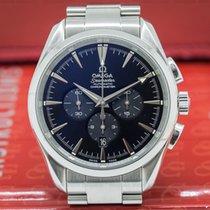 Omega 2512.50.00 Seamaster Aqua Terra Chronograph SS Black...