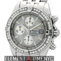 브라이틀링 (Breitling) Chronomat Evolution Factory Diamond Bezel...