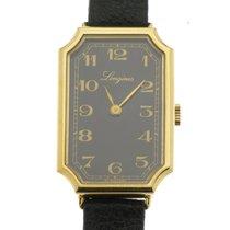 Longines Classic rettangolare placcato oro giallo