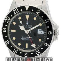 Ρολεξ (Rolex) GMT-Master Stainless Steel Black Dial Circa 1987