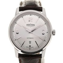 Vulcain 50s Presidents'Classic 42 Silver-toned Dial