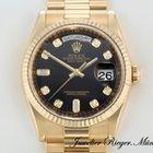 Rolex Day Date Gelbgold 750 Diamanten Automatik 36mm DayDate