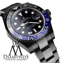 Rolex Gmt Master Ii Batman 116 Black Dial & Black And Blue...
