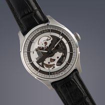 Hamilton Jazzmaster Viewmatic Skeleton steel automatic watch...