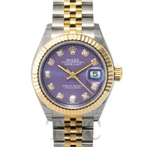 Rolex Lady-Datejust 28 Lavender Steel/18k Yellow Gold G 28mm -...