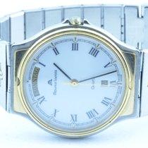 Maurice Lacroix Herren Uhr 34mm Stahl/gold Quartz Orig. Band...