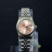 Rolex Lady Datejust 26mm Diamant Top Zustand Box & Papiere