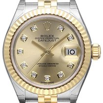 ロレックス (Rolex) Lady-Datejust 28 279173 Champagner Diamant...